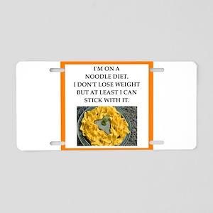 noodle Aluminum License Plate