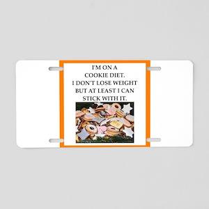 cookie Aluminum License Plate