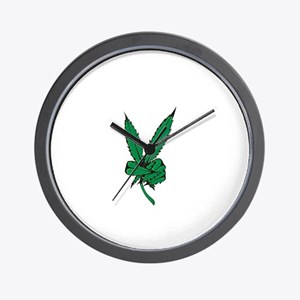 Potleaf Wall Clock