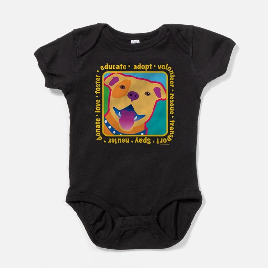 Bright Pitbull Body Suit