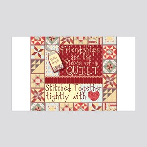 Quilting Friendships Wall Decal