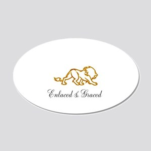 Enlaced and Graced Wall Decal