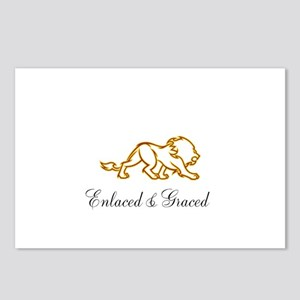 Enlaced and Graced Postcards (Package of 8)