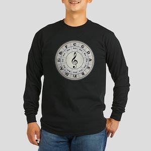 """Pearl"" Circle of Fifths Long Sleeve T-Shirt"