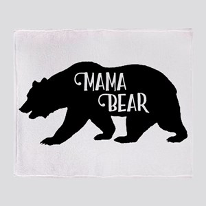 Mama Bear - Family Collection Throw Blanket