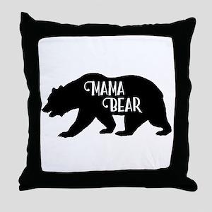 Mama Bear - Family Collection Throw Pillow