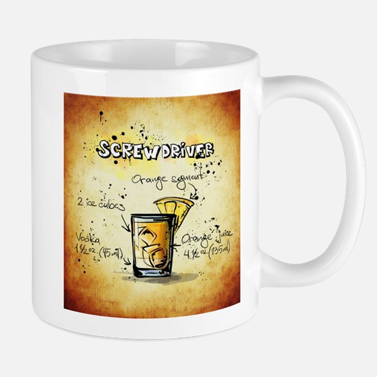 Screwdriver (Brown) Mugs