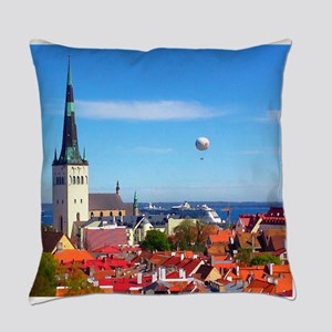 Flying Ball of the Sky Everyday Pillow