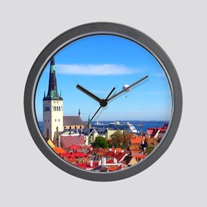 Flying Ball of the Sky Wall Clock