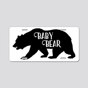 Baby Bear - Family Collecti Aluminum License Plate