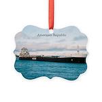 American Republic Picture Ornament