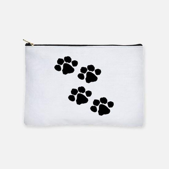 Animal Paw Prints Makeup Bag