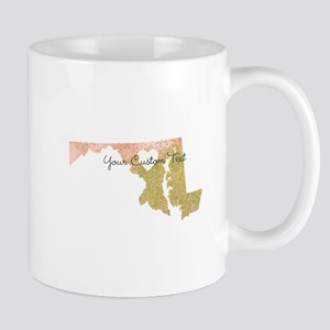 Personalized Maryland State Mugs