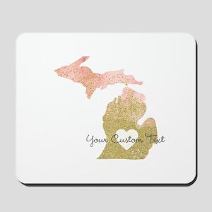 Personalized Michigan State Mousepad