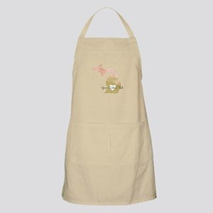 Personalized Michigan State Apron