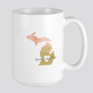 Personalized Michigan State Mugs