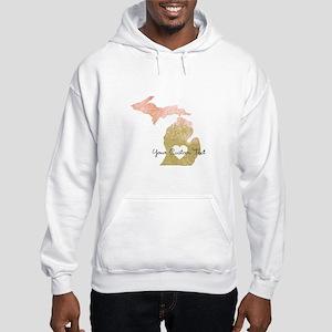 Personalized Michigan State Sweatshirt