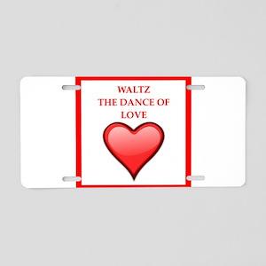 waltz Aluminum License Plate