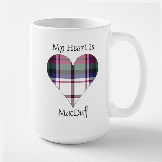 Heart-MacDuff dress Large Mug