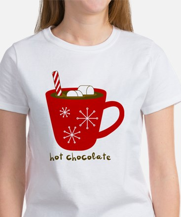 Holiday Hot Chocolate Women's Cap Sleeve T-Shirt