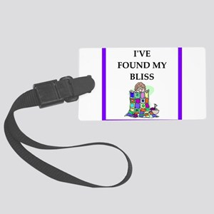 quilting Luggage Tag