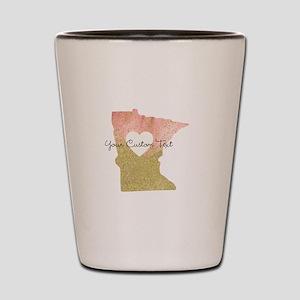 Personalized Minnesota State Shot Glass