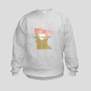 Personalized Minnesota State Sweatshirt