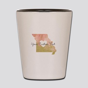 Personalized Missouri State Shot Glass