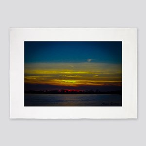 November Sunset 5'x7'Area Rug