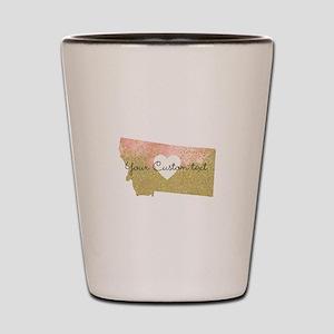 Personalized Montana State Shot Glass