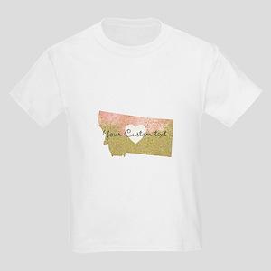 Personalized Montana State T-Shirt