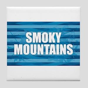 Smoky Mountains Tile Coaster