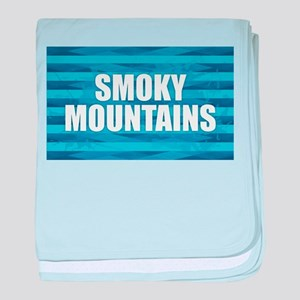 Smoky Mountains baby blanket