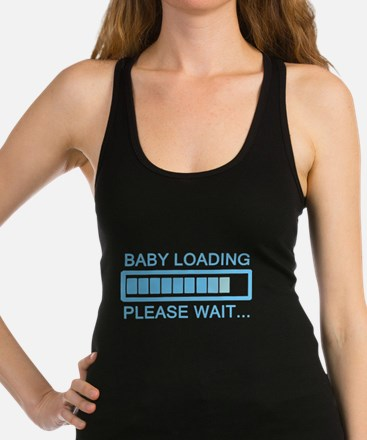 Baby Loading Please Wai Tank Top