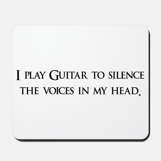 I Play Guitar To Silence The Mousepad