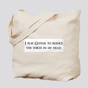 I Play Guitar To Silence The Tote Bag