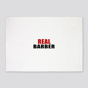 Real Barber 5'x7'Area Rug
