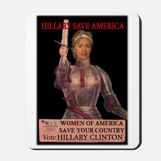 Hillary of Arc Mousepad