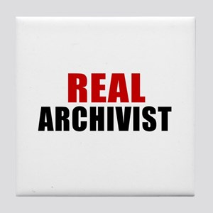 Real Archivist Tile Coaster