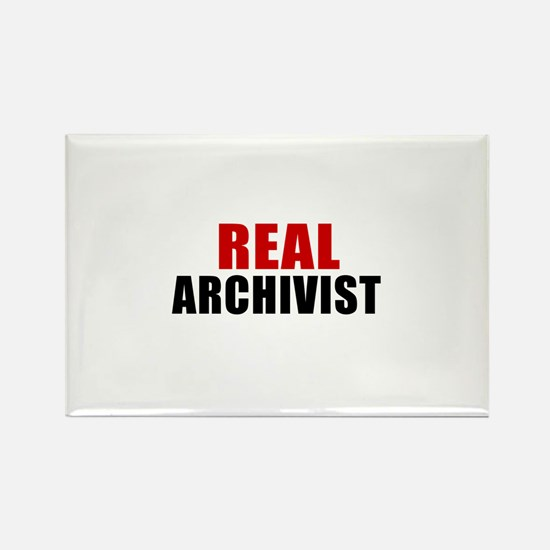 Real Archivist Rectangle Magnet