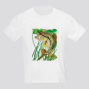 Largemouth Bass with Lily Pads T-Shirt