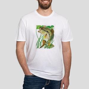 Largemouth Bass with Lily Pads T-Shirt