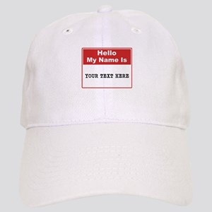 Custom Name Tag Cap