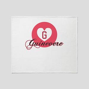 guinevere Throw Blanket