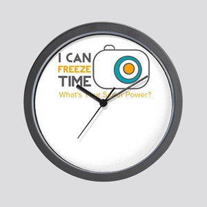 i can freeze time Wall Clock