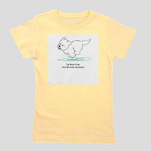 running dog better2000flat T-Shirt