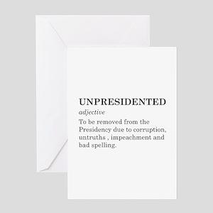 Unpresidented Greeting Card