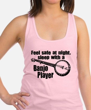 Feel Safe with a Banjo Player Tank Top