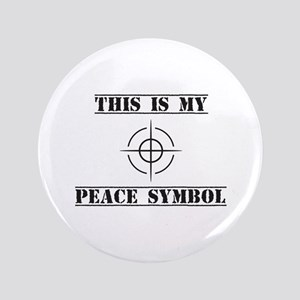 This is My Peace Symbol Button