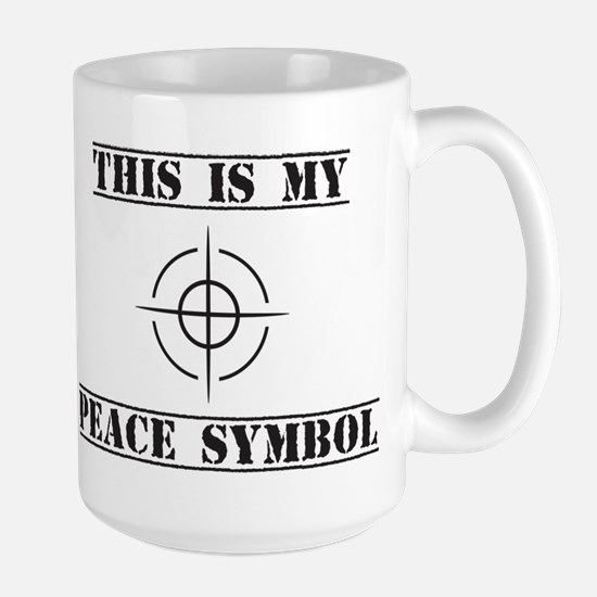 This is My Peace Symbol Mugs